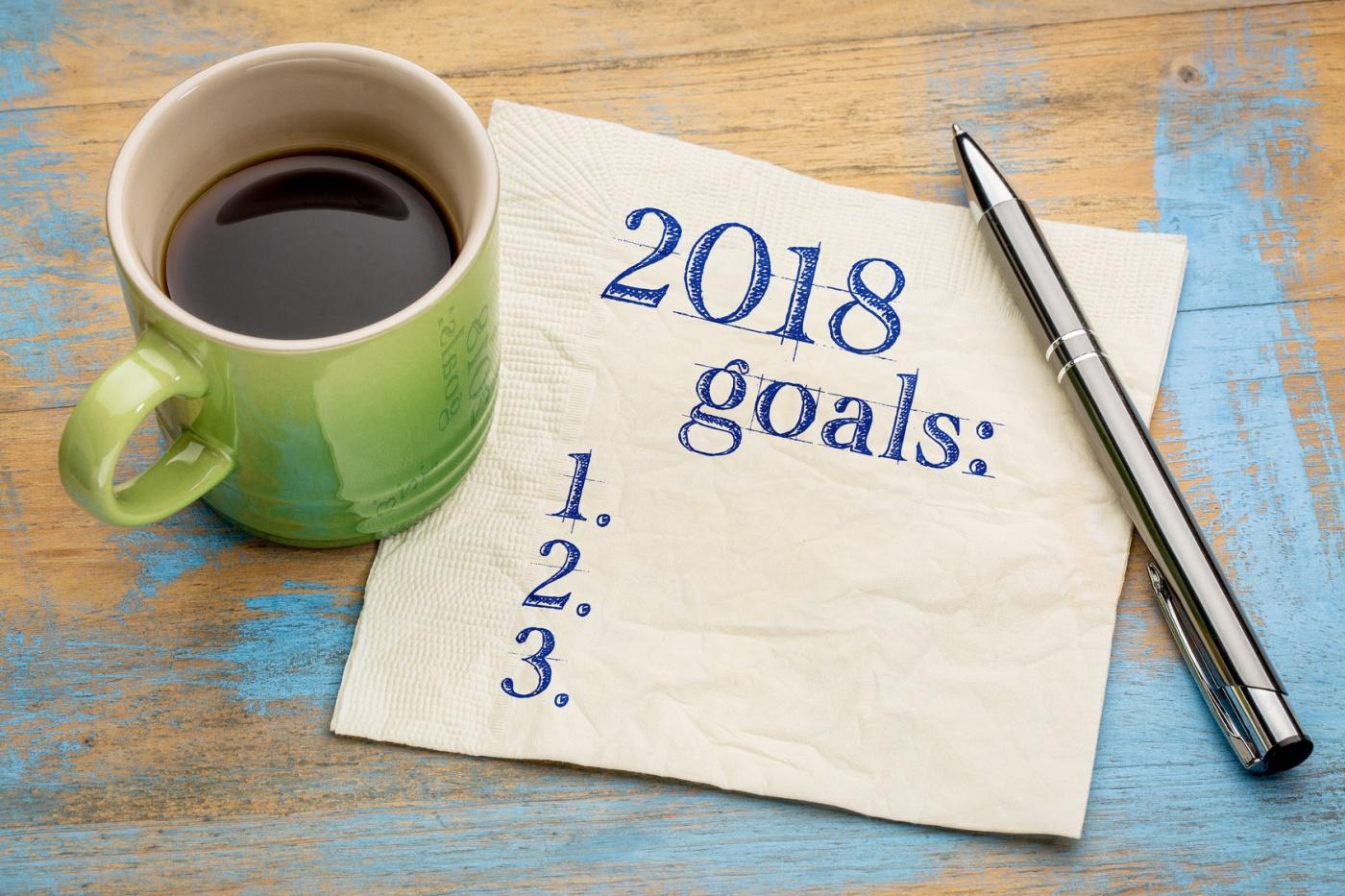 2018 goal list